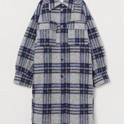 Long Shirt Jacket   H&M (US)