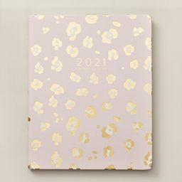 2020-2021 17-Month Agenda Gold Pink Leopard | Indigo (CA)