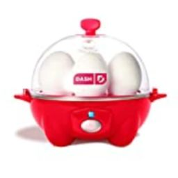 Dash Rapid Egg Cooker: 6 Egg Capacity Electric Egg Cooker for Hard Boiled Eggs, Poached Eggs, Scramb | Amazon (US)