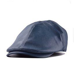Artificial Leather Ivy Golf Caps Bonnet Newsboy Beret Cabbie Gatsby Flat Golf Hat for Women/Men | Walmart (US)