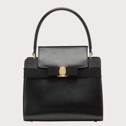 Salvatore Ferragamo Women Vara Bow handbag small Black | Salvatore Ferragamo (US)