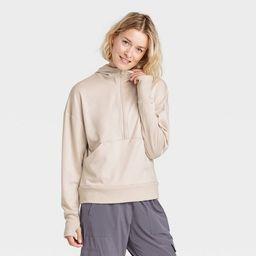 Women's Ponte 1/2 Zip Sweatshirt - All in Motion™ | Target