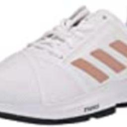 adidas Courtjam Bounce, White/Copper/Black, 9 | Amazon (US)