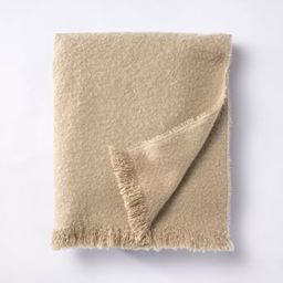Boucle Faux Mohair Throw Blanket - Threshold™ designed with Studio McGee | Target