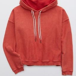 Aerie New Love Corded Hoodie | American Eagle Outfitters (US & CA)