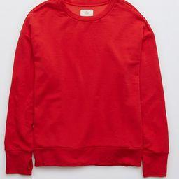 OFFLINE OTT Fleece Crewneck Sweatshirt | American Eagle Outfitters (US & CA)