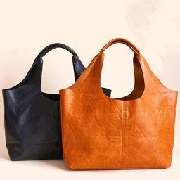 Vegan Leather Hobo Bag (comes with detachable insert small bag) | Social Threads