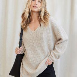 Cabin Sweater - Oatmeal   Jenni Kayne   Jenni Kayne