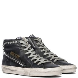Slide Classic leather sneakers   Mytheresa (US)