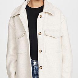 Drew Wool Blend Jacket   Shopbop