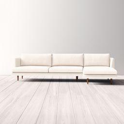 "112"" Sofa & Chaise   Wayfair North America"