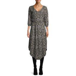 Time and Tru Women's Woven Smocked Dress   Walmart (US)