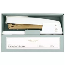 20 Sheet Capacity Stapler White/Gold - Sugar Paper™ | Target
