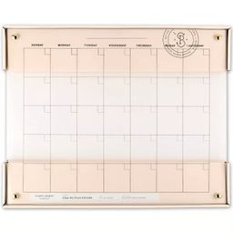 "20""x16"" Glass Dry Erase Calendar - Sugar Paper™ | Target"