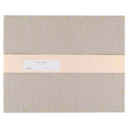 "16""x20"" Fabric Pin Board Gray Stripes - Sugar Paper™ | Target"