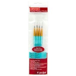 Black Taklon Liner Brushes Value Pack By Craft Smart® | Michaels Stores