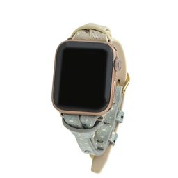 Gold Ombre Apple Watch Strap on Gold | Victoria Emerson
