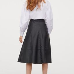 Faux Leather Skirt | H&M (US)