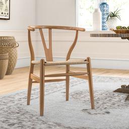 Dayanara Solid Wood Slat Back Dining Chair | Wayfair North America