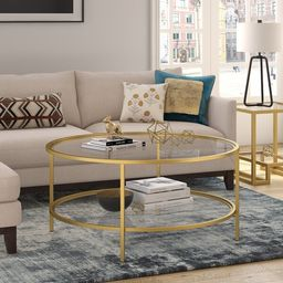 Magdalen Coffee Table with Storage | Wayfair North America