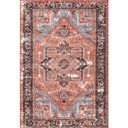 nuLOOM Sherita Oriental Persian Rust 3 ft. x 5 ft. Area Rug-DISA05A-305 - The Home Depot | The Home Depot