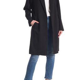 Notch Lapel Long Knit Jacket | Nordstrom Rack