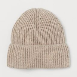 Ribbed Hat | H&M (US)