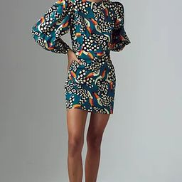 Farm Rio Tucans Tunic Dress   Anthropologie (US)