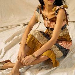 Letizia Colorblocked Mini Dress   Anthropologie (US)