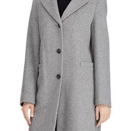 Lauren Ralph Lauren Wool Blend Reefer Coat (Regular & Petite) | Nordstrom | Nordstrom