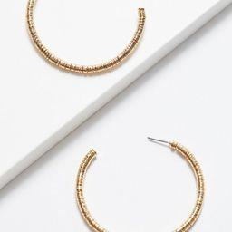 Cora Wire Wrap Hoop Earring | Evereve