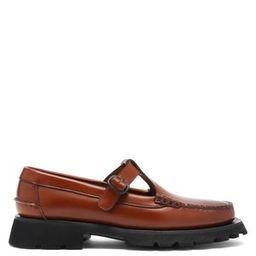 Albert Sport T-bar raised-sole leather loafers | Hereu | MATCHESFASHION UK | Matchesfashion (UK)