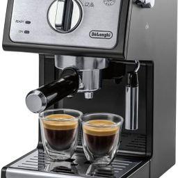 De'Longhi Espresso Machine with 15 bars of pressure Black ECP3420 - Best Buy   Best Buy U.S.
