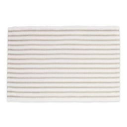 C&F Home Ticking Stripe Placemats in Sandstone (Set of 4) | Bed Bath & Beyond