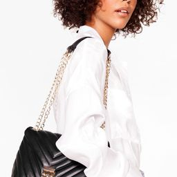 WANT Quilt Messin' Faux Leather Shoulder Bag | NastyGal (US & CA)
