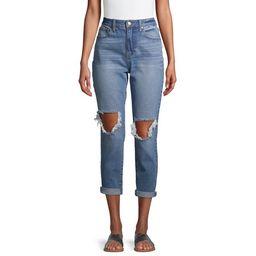 No Boundaries Juniors' Mom Jeans | Walmart (US)