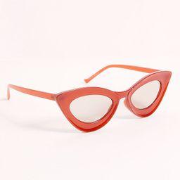 Cavaretta Cat Eye Sunglasses   Free People (US)