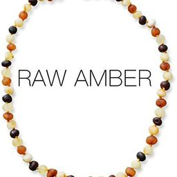 Meraki Baltic Amber Necklace - Raw Unpolished Baroque Baltic Amber Necklace   Certified Genuine B...   Amazon (US)