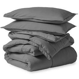 Bare Home Microfiber Comforter Set   Target