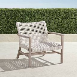Isola Lounge Chair in Weathered Finish | Frontgate | Frontgate
