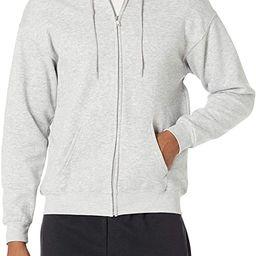 Hanes Men's Full-Zip Eco-Smart Fleece Hoodie | Amazon (US)
