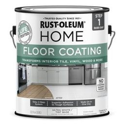 1 Gal. Ultra-White Interior Floor Base Coating | The Home Depot