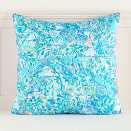 Lilly Pulitzer Pineapple Party Sham, Euro, Multi | Pottery Barn Teen