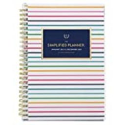 """2021 Weekly & Monthly Planner Simplified by Emily Ley for AT-A-GLANCE, 5-1/2"""" x 8-1/2"""", Small, Custo   Amazon (US)"""