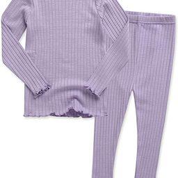 VAENAIT BABY 12M-7T Kids Unisex Girls & Boys Soft Comfy Modal Tencel Shirring Sleepwear Pajamas 2... | Amazon (US)