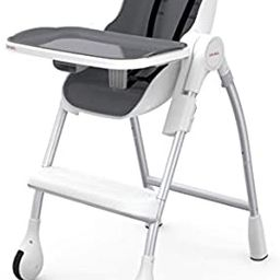 Oribel Cocoon 3-Stage High Chair, Slate | Amazon (US)
