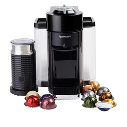 Nespresso Vertuo Coffee Maker with Milk Frother & Coffee Voucher | HSN