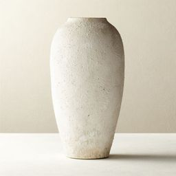 Torino White Textured VasePurchase now and we'll ship when it's available.   Estimated in  mid ...   CB2