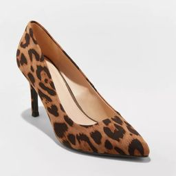 Women's Gemma Pointed Toe Heeled Pumps - A New Day™ | Target