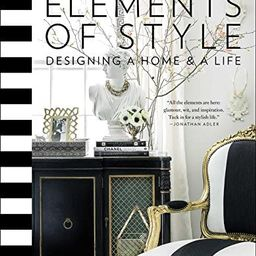 Elements of Style: Designing a Home & a Life   Amazon (US)
